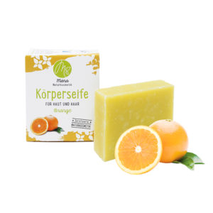 Körperseife Orange Bio Vegan 90g