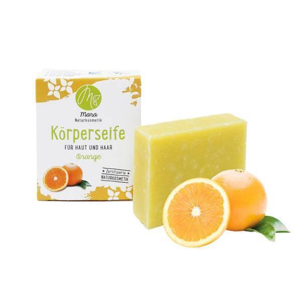 Körperseife Orange Bio Vegan 90g
